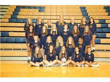2018 Freshmen Girls Volleyball Team