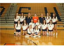 2018 Varsity Girls Volleyball Team