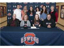 Samantha Harms signs to continue playing Softball at University of Wisconsin-River Falls
