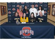 Jenna Veber signs to continue playing Softball at Murray State University