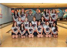 2018-2019 Girls Bowling Team