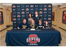 Megan Maruna signing with University of Wisconsin - Eau Claire to continue playing Softball