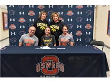 Caitlin Guist signs with University of Iowa to continue running Track/Cross Country