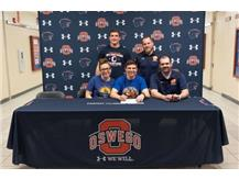 Jaiden Speer signs with Western New England University to continue with Wrestling