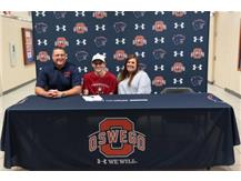 Ryan Prusak signs with Monmouth College to continue with Golf