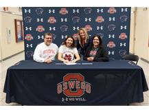 Kailee Thacker signs with North Central College to continue playing Volleyball