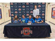 Sebastian Wong signs with Aurora University to continue running Cross Country.