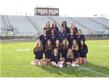 2019 Freshman Girls Volleyball Team