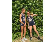 Ella Hale, 6th Place, 800 Meters Izzy Christiansen, 9th place, 1600 Meters