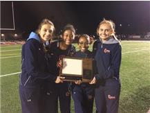 Captains (Left to Right): Caitlin Guist, Raven Robinson, Shay Grady, Jaycie Simon