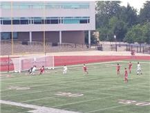 Moments before the game winning goal by Carlos Rios over Naperville Central in the Best of the West Championship.