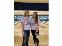 Queens of the Hill Ms. Samuilis & Lexi Dellaca @ 2020 Strike Against Hunger