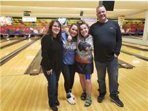 Savanna Jourdan with Family @ 2020 Sectional Tournament