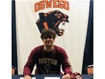 Signing day for Otto Hess who committed to play football for Boston College!