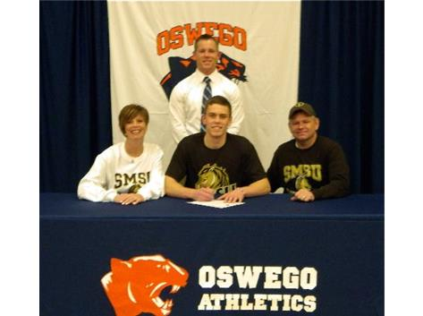 Trevor Matczak signs with Southwest Minnesota State University for Football.