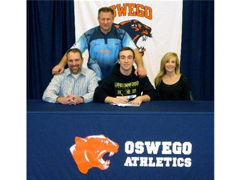 Griffin Lawrence signs with Lindenwood to play Rugby.
