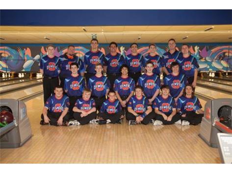 2014-2015 Boys Bowling Team