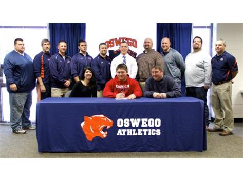 Jared Connors signs to play Football for Dayton