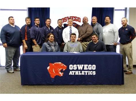 Connor Cavins signs to play Football for Culver Stockton