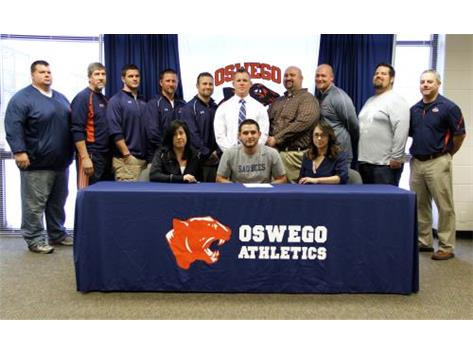 Eric Cruz signs to play Football for St Ambrose