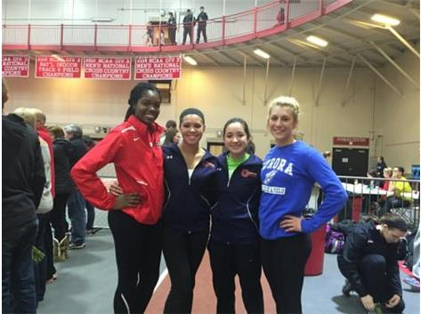 Two former Panthers, Abena Owusu and Rachel Burkhart now competing in college!