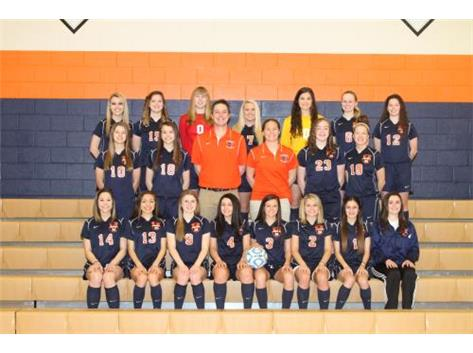 2014-2015 Varsity Girls Soccer Team