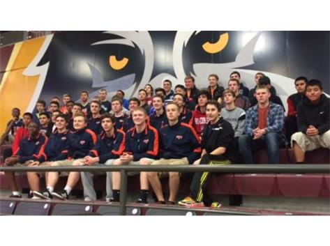 The 2015 Panther Boys Volleyball program on their annual field trip to Loyola University!