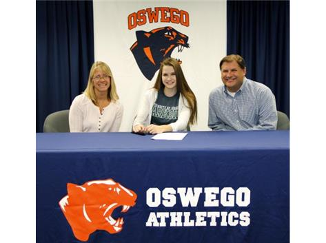 Lyndsie Anders sign with University of Wisconsin Parkside - Volleyball