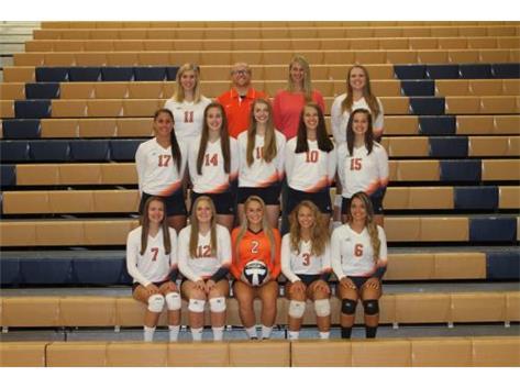 2015 Varsity Girls Volleyball Team