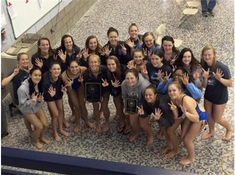 Girls Swim/Dive Team Conference Champs for 7 consecutive years!!!
