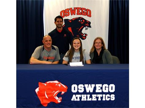 Haley Douglas signs to bowl at St. Ambrose University.