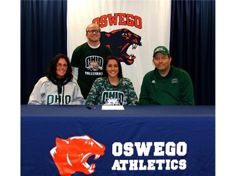 Katelyn Burke signs to play volleyball at Ohio University.
