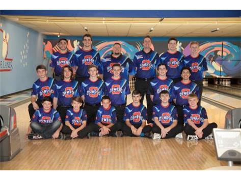 2015-2016 Boys Bowling Team