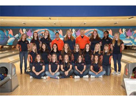 2015-2016 Girls Bowling Team