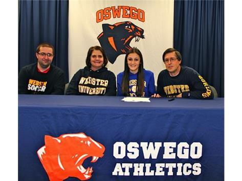 Melissa Kasper signs with Webster University to play Soccer