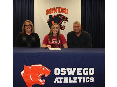 Hannah Caruso signs with University of Indianapolis to play Soccer