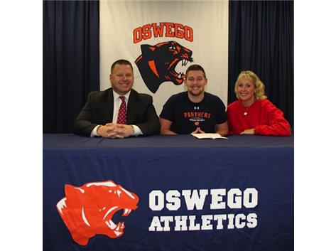 Brennan Burdo signs to play football at University of Dayton