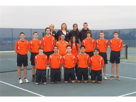 2016 Varsity Boys Tennis Team
