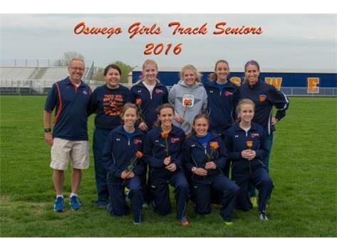 2016 Girls Track Senior Night
