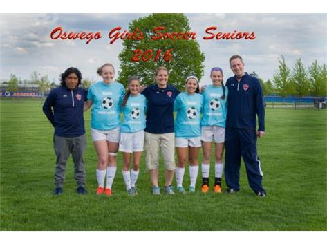 2016 Girls Soccer Senior Night
