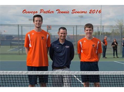 2016 Boys Tennis Senior Night