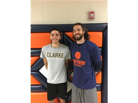 Congratulations to Nick Ramos on signing with Clarke University to play on the Men's Volleyball team!