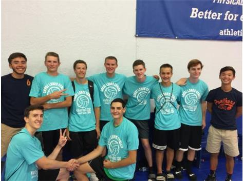 The OHS group took 2nd place in the GLC Boys Volleyball Summer league in July!