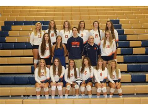 2016-2017 Varsity Girls Volleyball