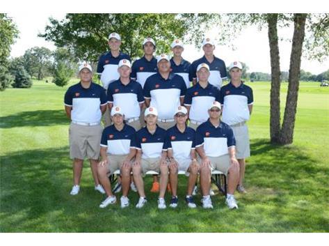 2016-2017 Varsity Boys Golf Team