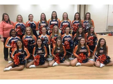 2016-2017 Sideline Dance Varsity Team