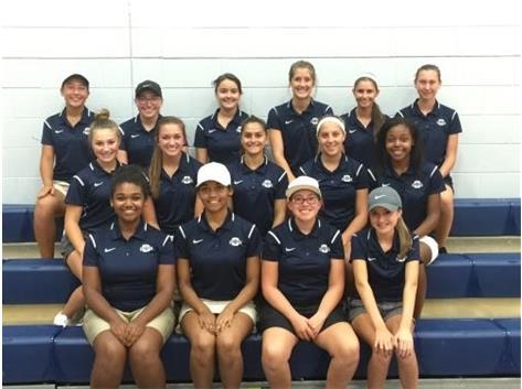 2016-2017 Oswego Co-op Girls Golf Team