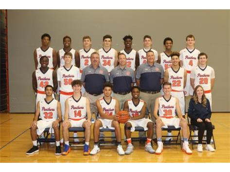 2016-2017 Varsity Boys Basketball Team