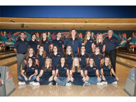 2016-2017 Girls Bowling Team