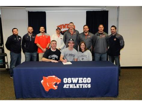 Cole Aughenbaugh signs to continue playing Baseball at St Ambrose.